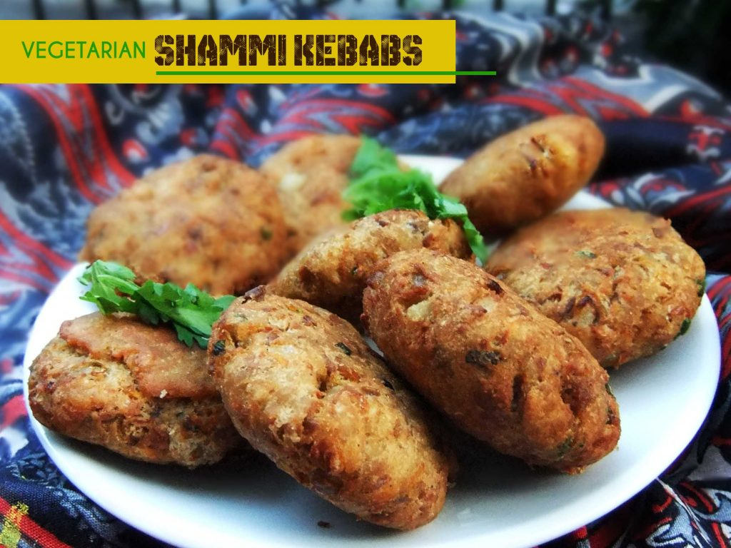 shammi kebab veg