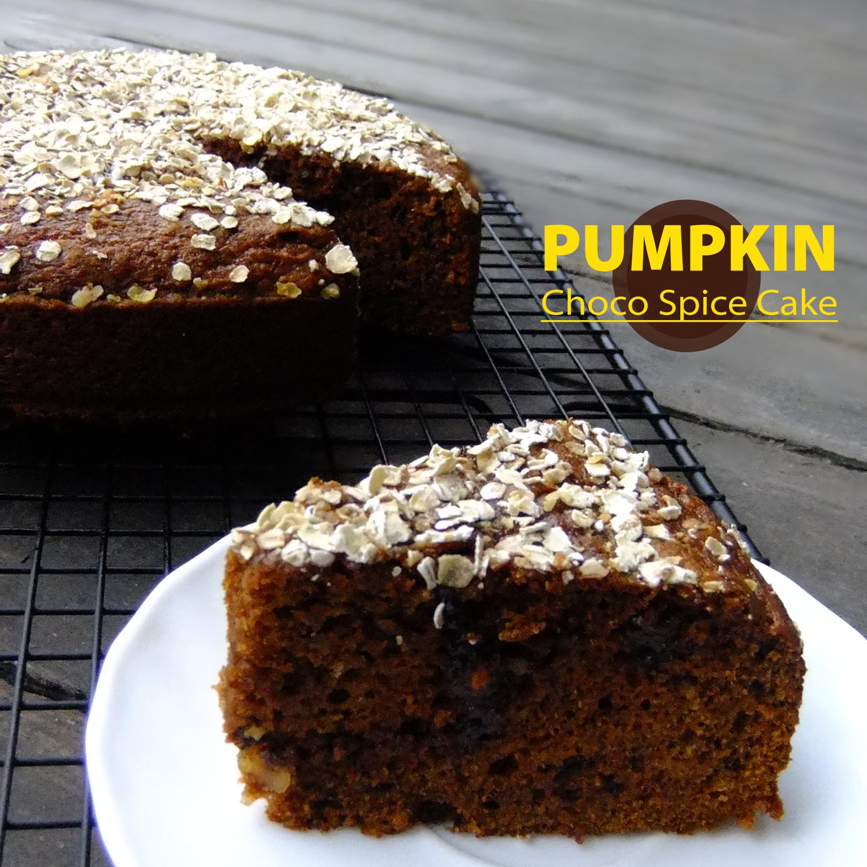 PUMPKIN CHOCO SPICE CAKE copy
