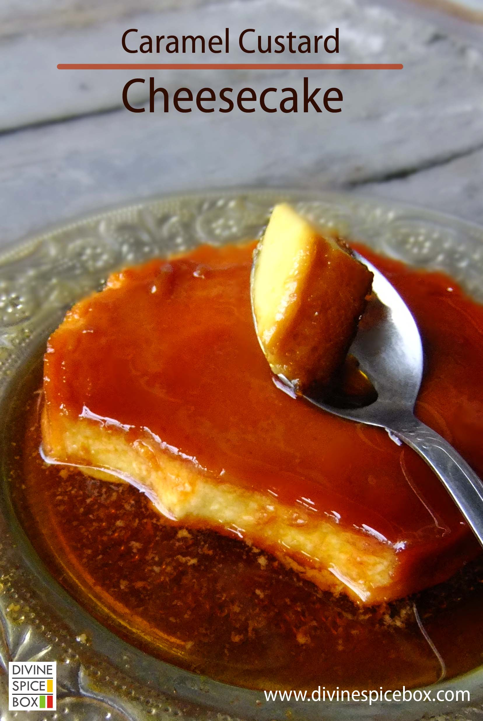 caramel custard cheesecake copy