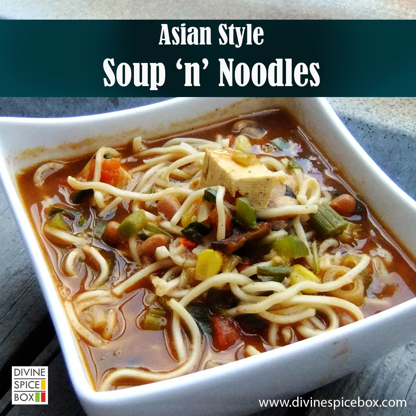 asian style soup'n' noodles