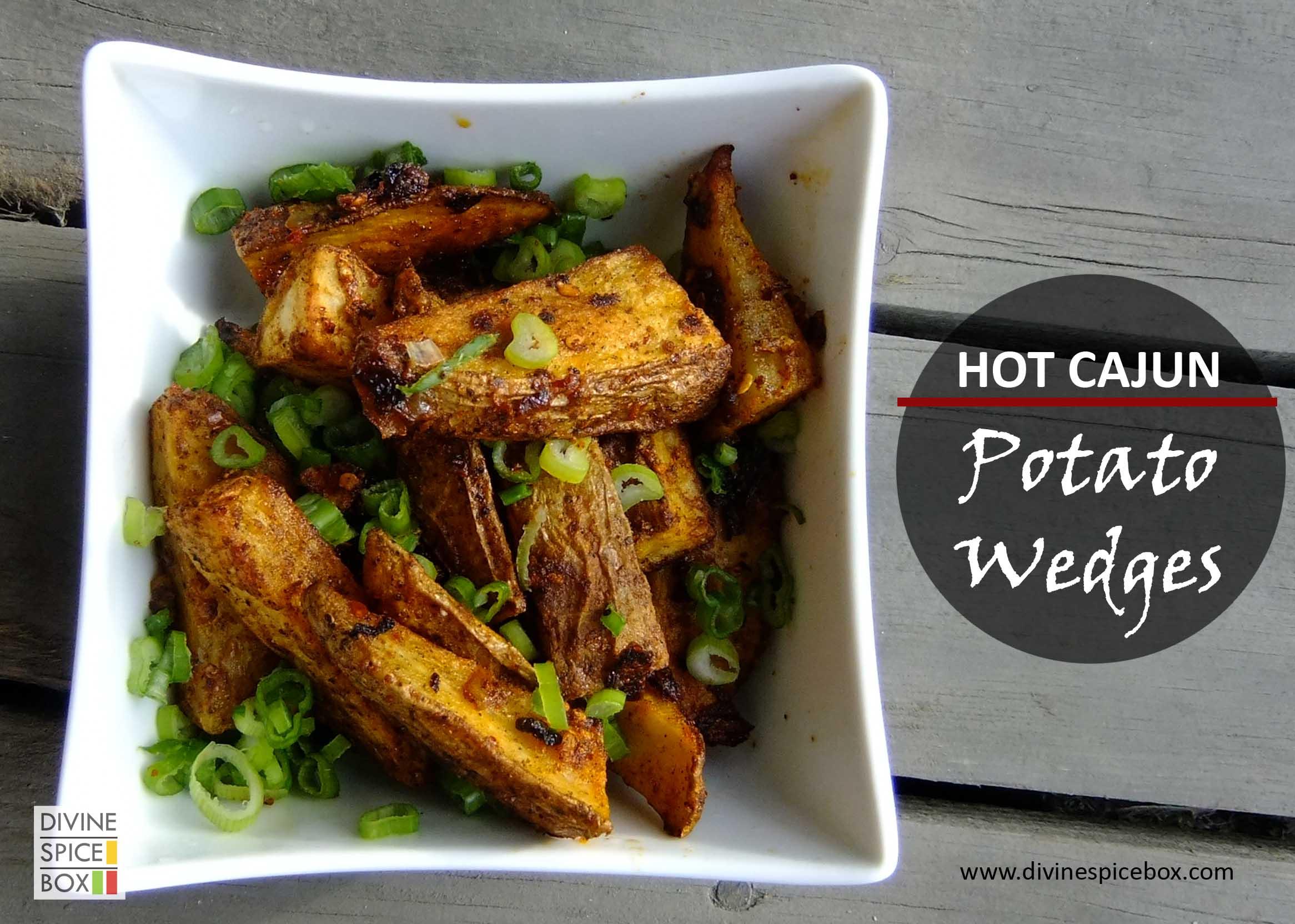 hot cajun potato wedges copy