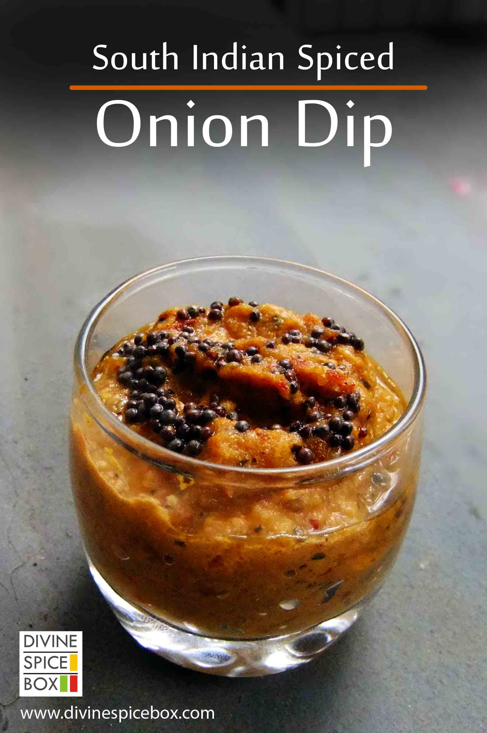 South indian spiced onion dip divine spice box onion dip copy indian cuisine is never complete without forumfinder Images