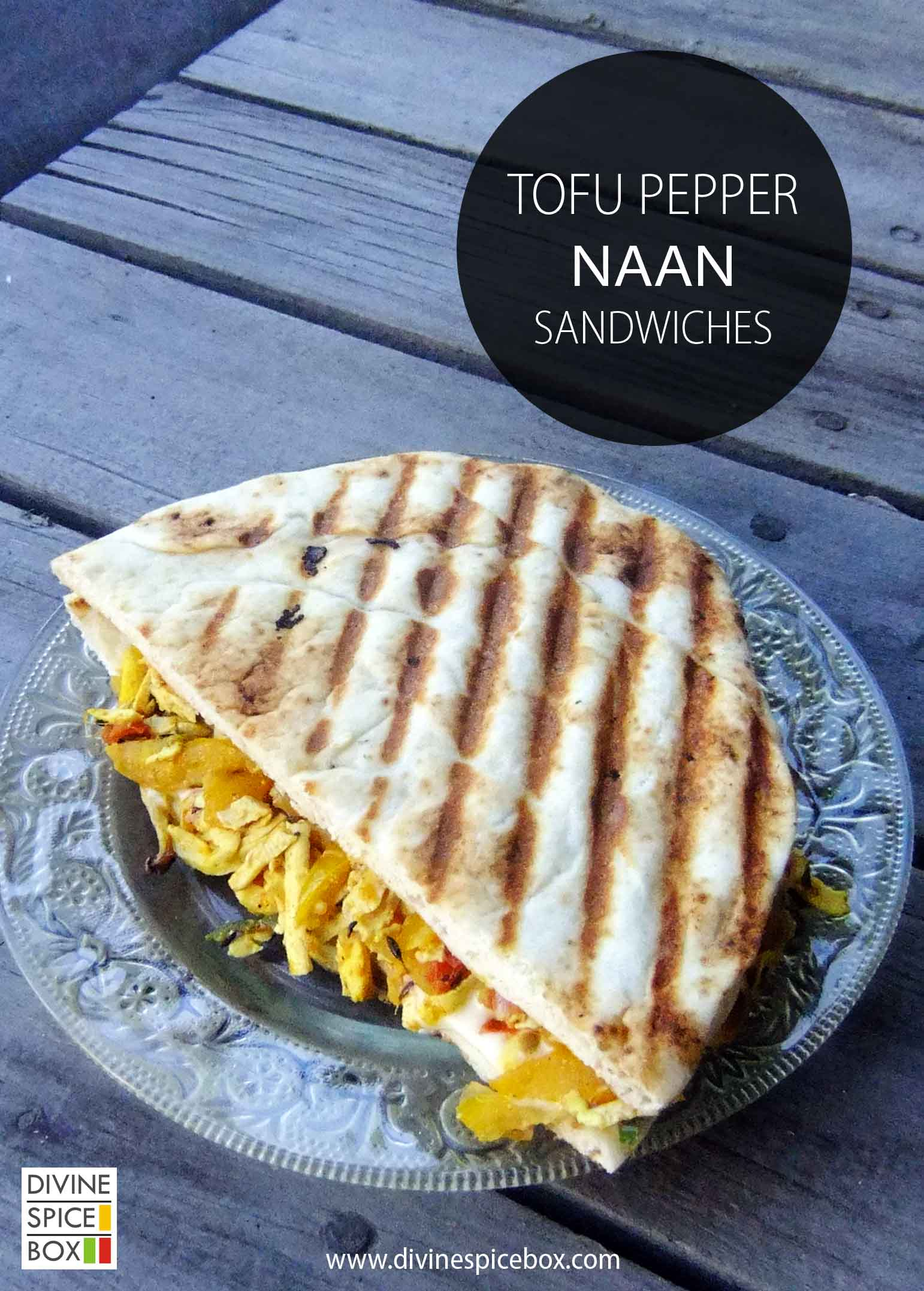 tofu pepper naan sandwiches copy