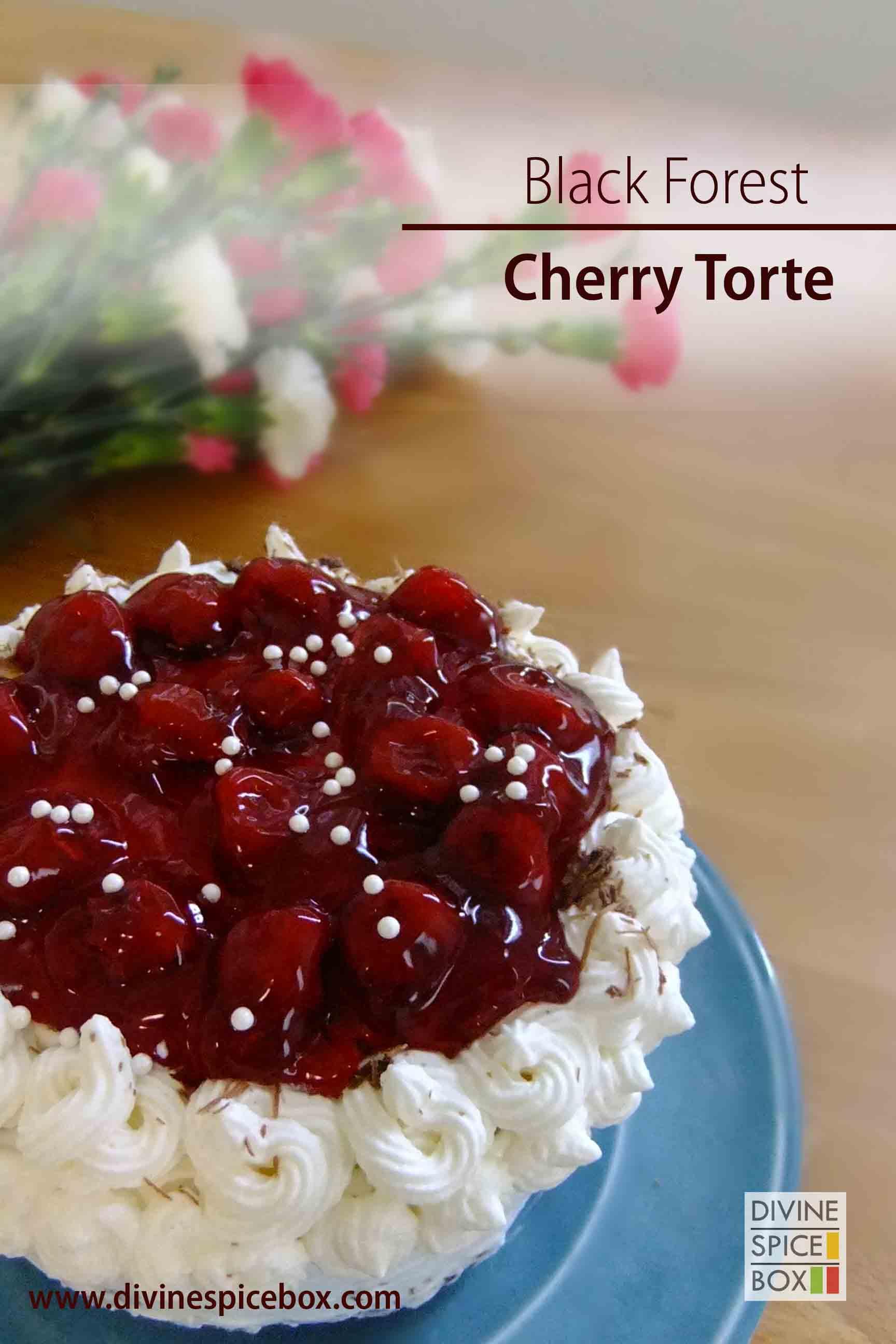 Black forest cherry torte divine spice box for Black forest torte recipe