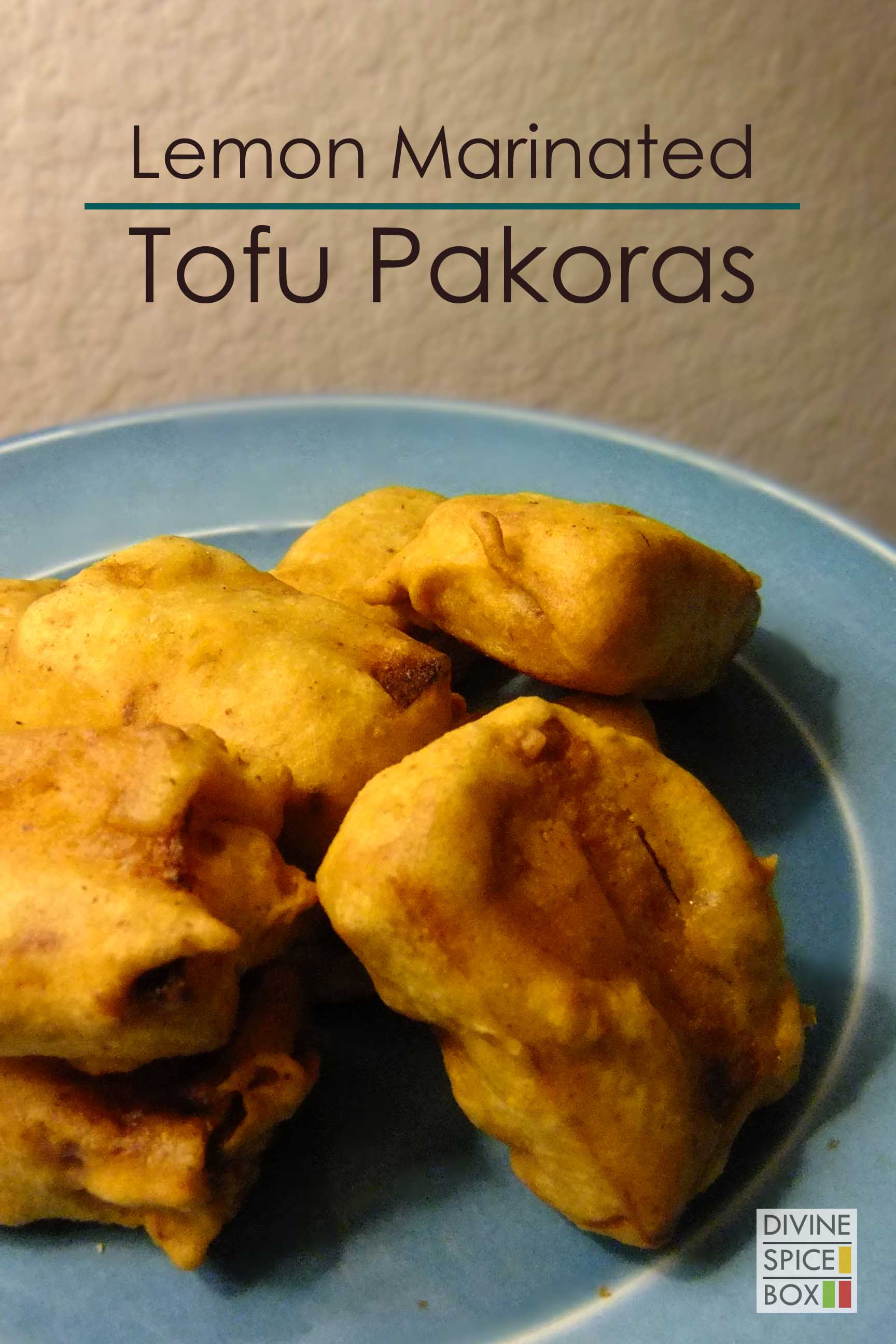 lemon marinated tofu pakoras copy