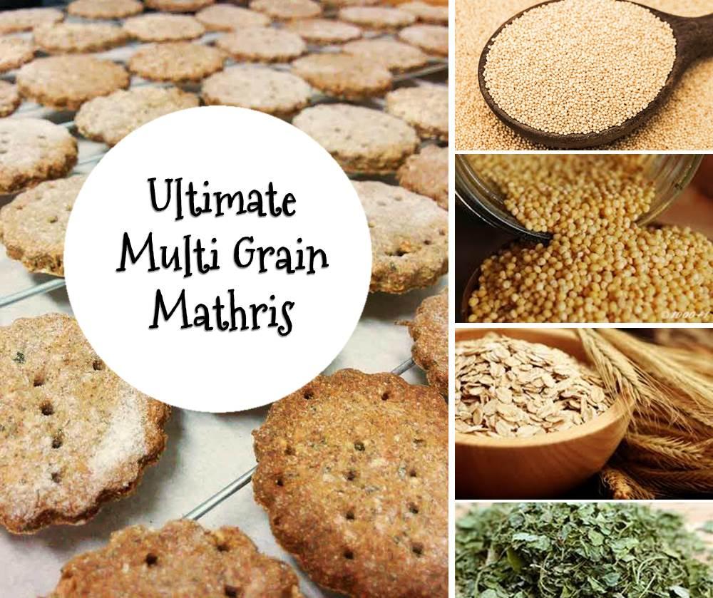 multi grain mathri