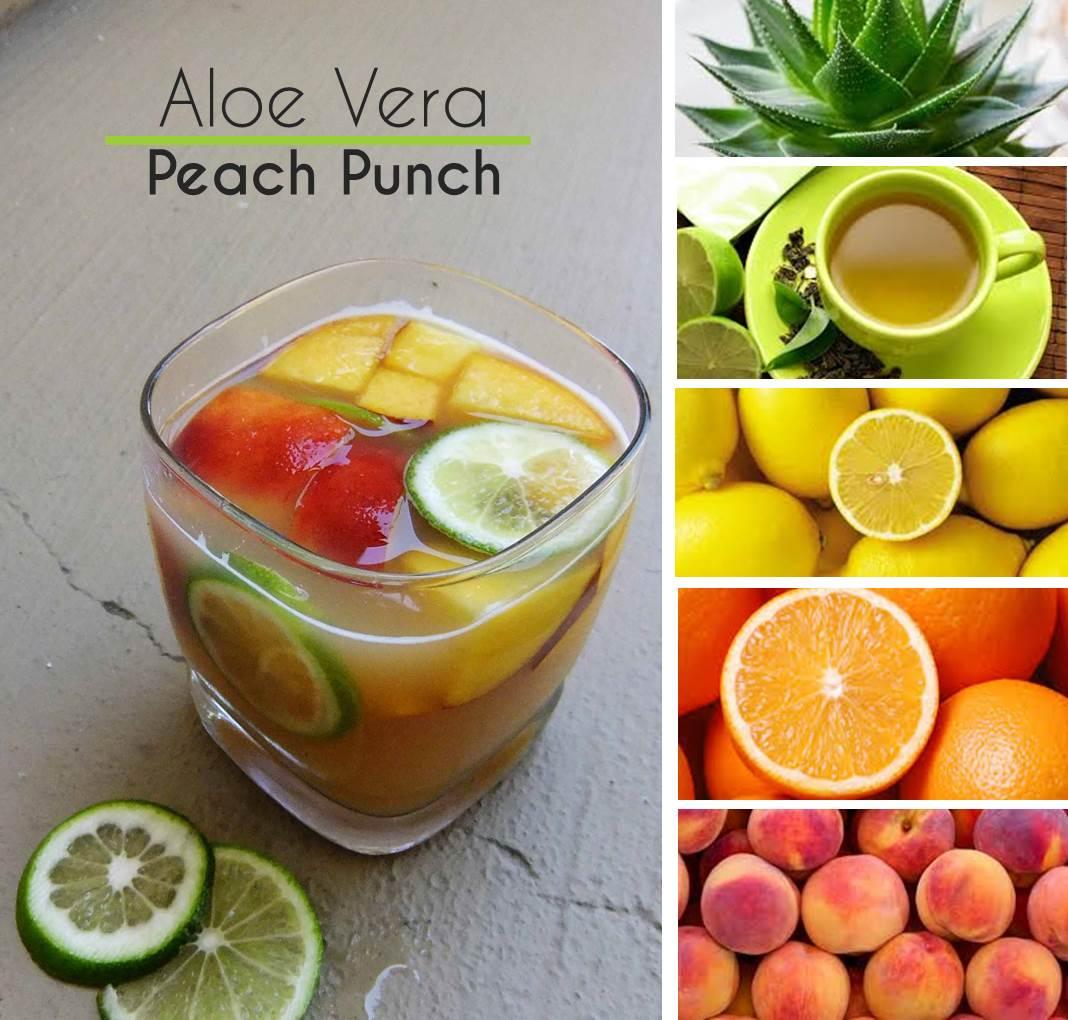 aloe vera peach punch DF