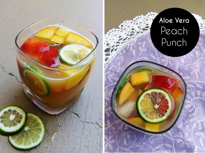 Aloe vera peach punch