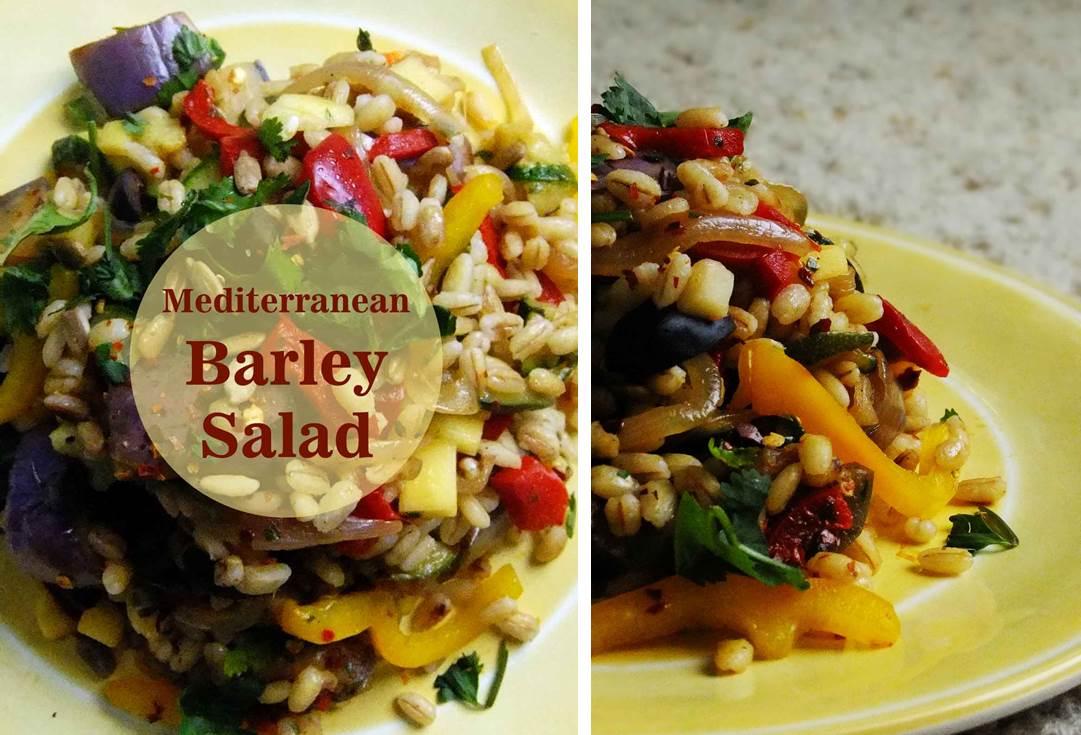 med barley salad