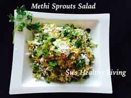 Methi sprouts Salad 5