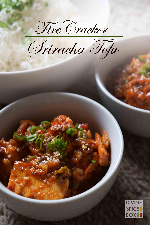 Fire cracker sriracha tofu divine spice box for tofu forumfinder Choice Image