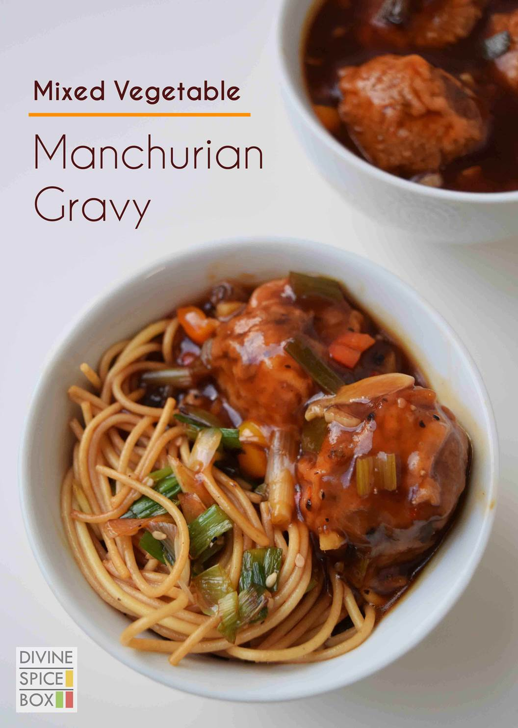 Mixed Vegetable Manchurian Gravy