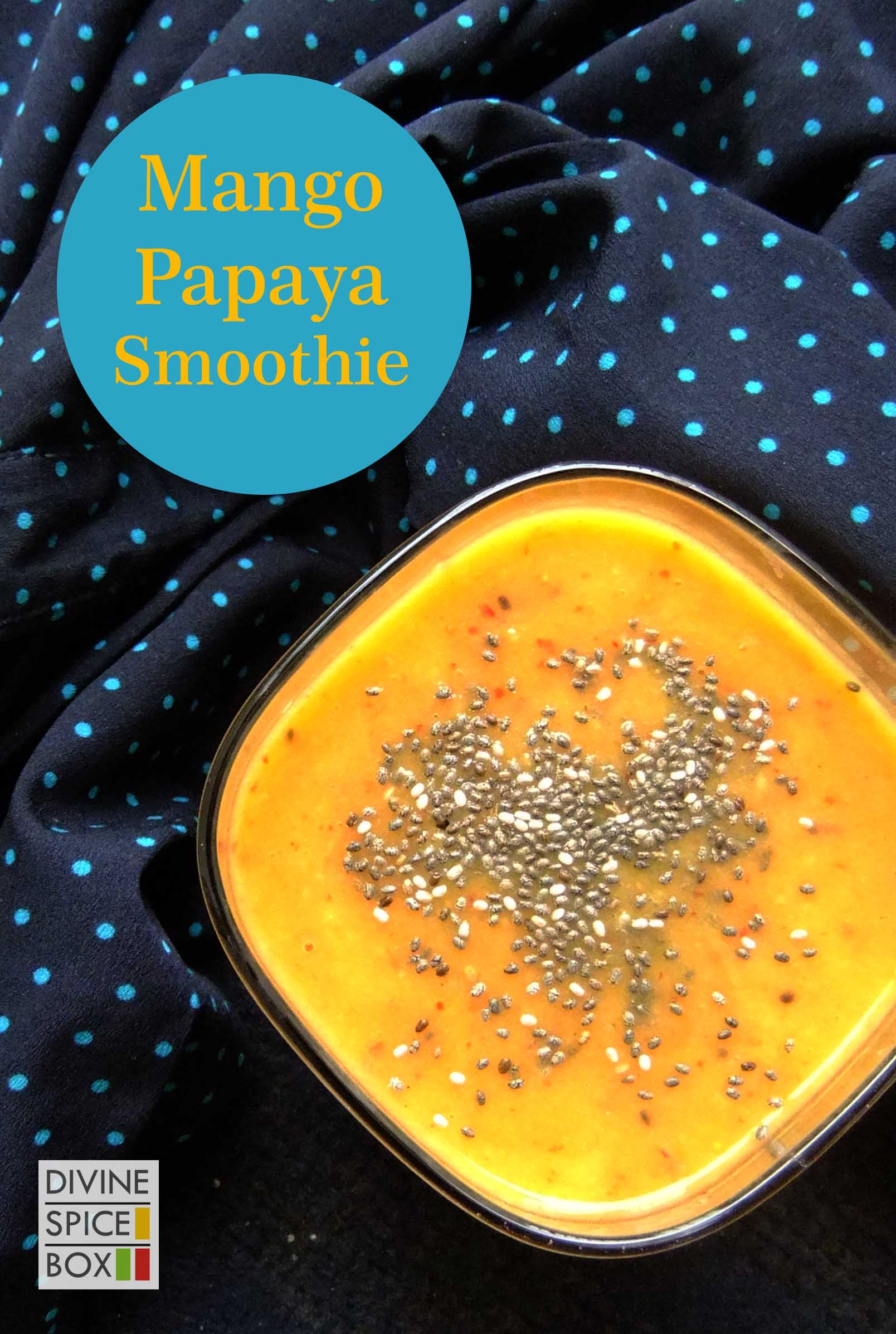 mango papaya Smoothie copy
