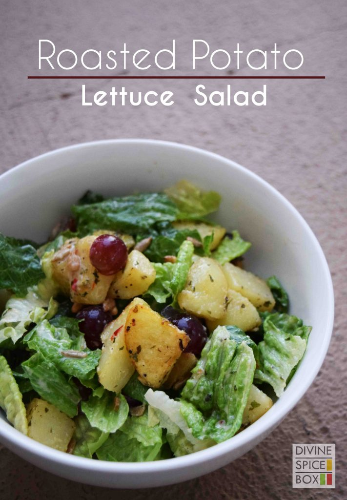 Roasted potato lettuce salad copy