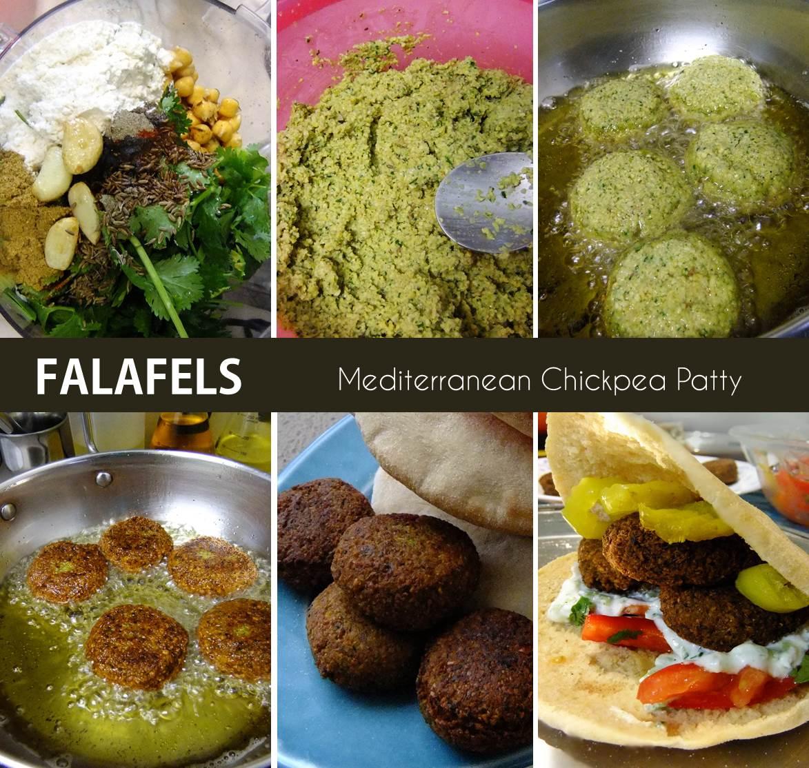 falafel stepwise