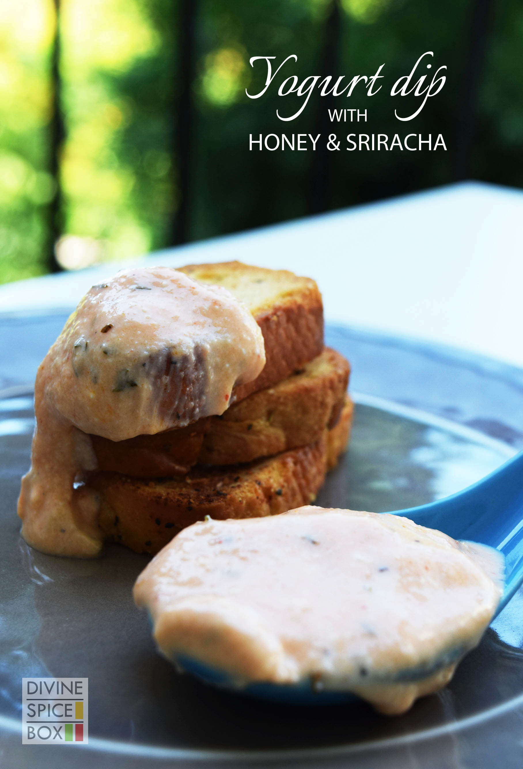 yogurt dip with honey and sriracha copy