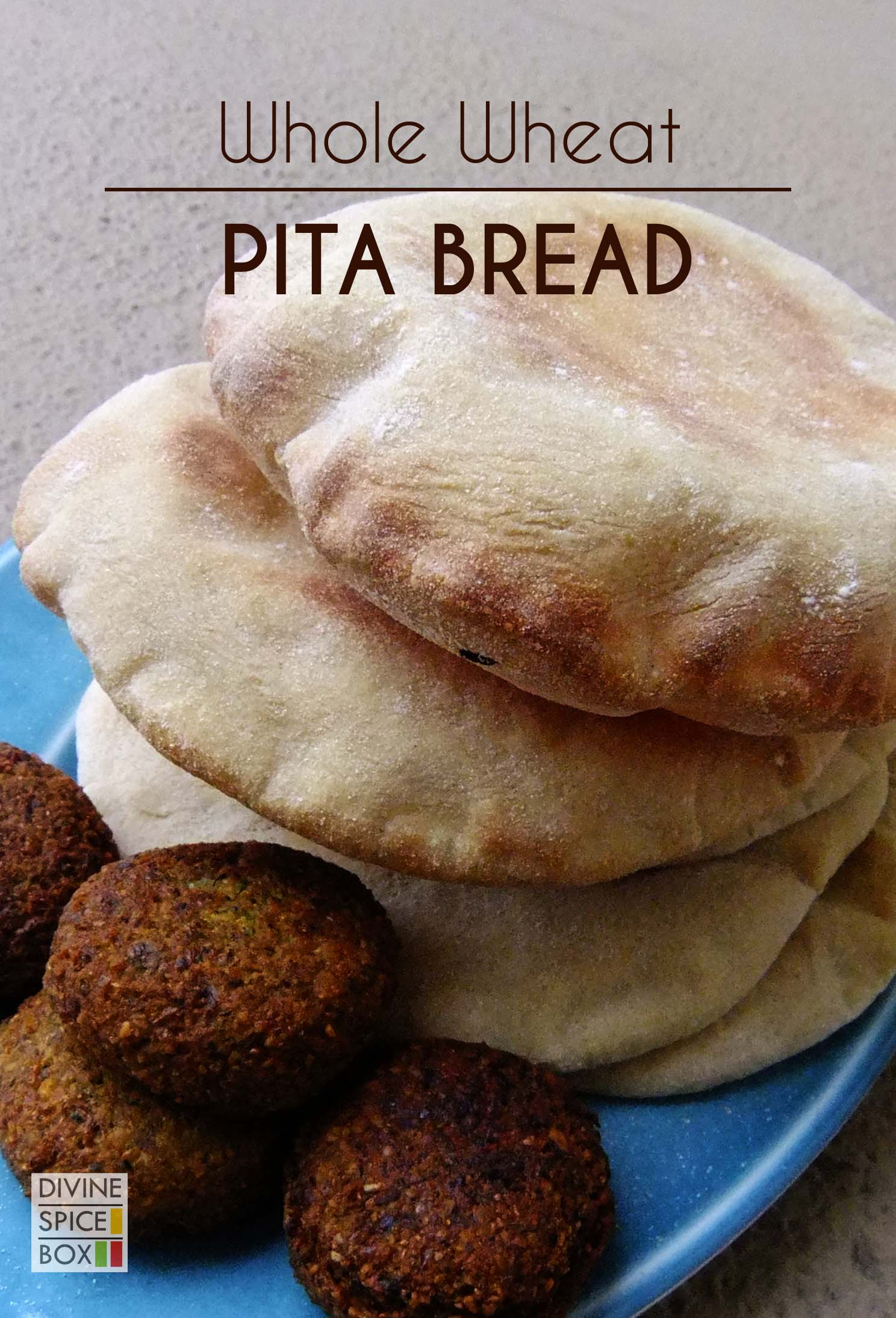 whole wheat Pita bread copy