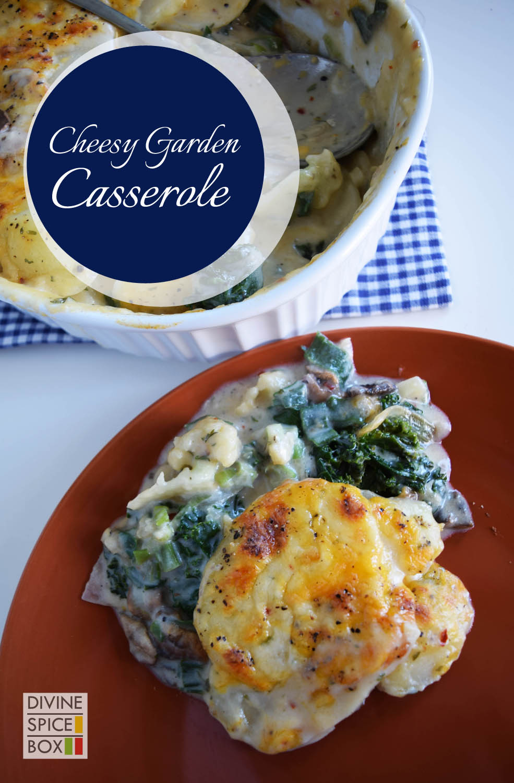 Cheesy Garden Casserole