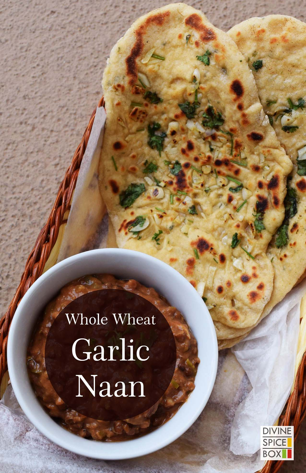whole wheat Garlic Naan copy