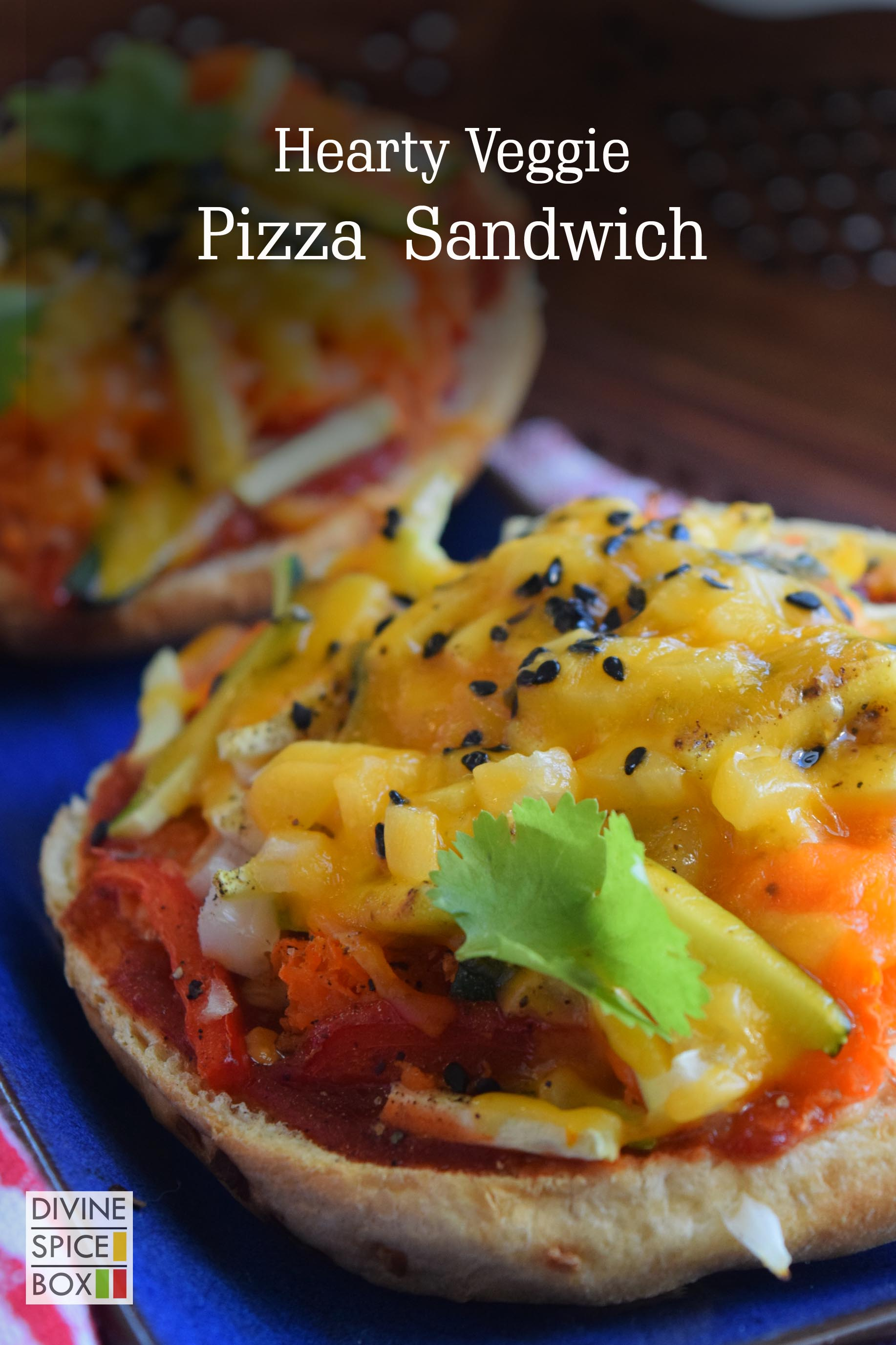 hearty veggie pizza sandwich copy