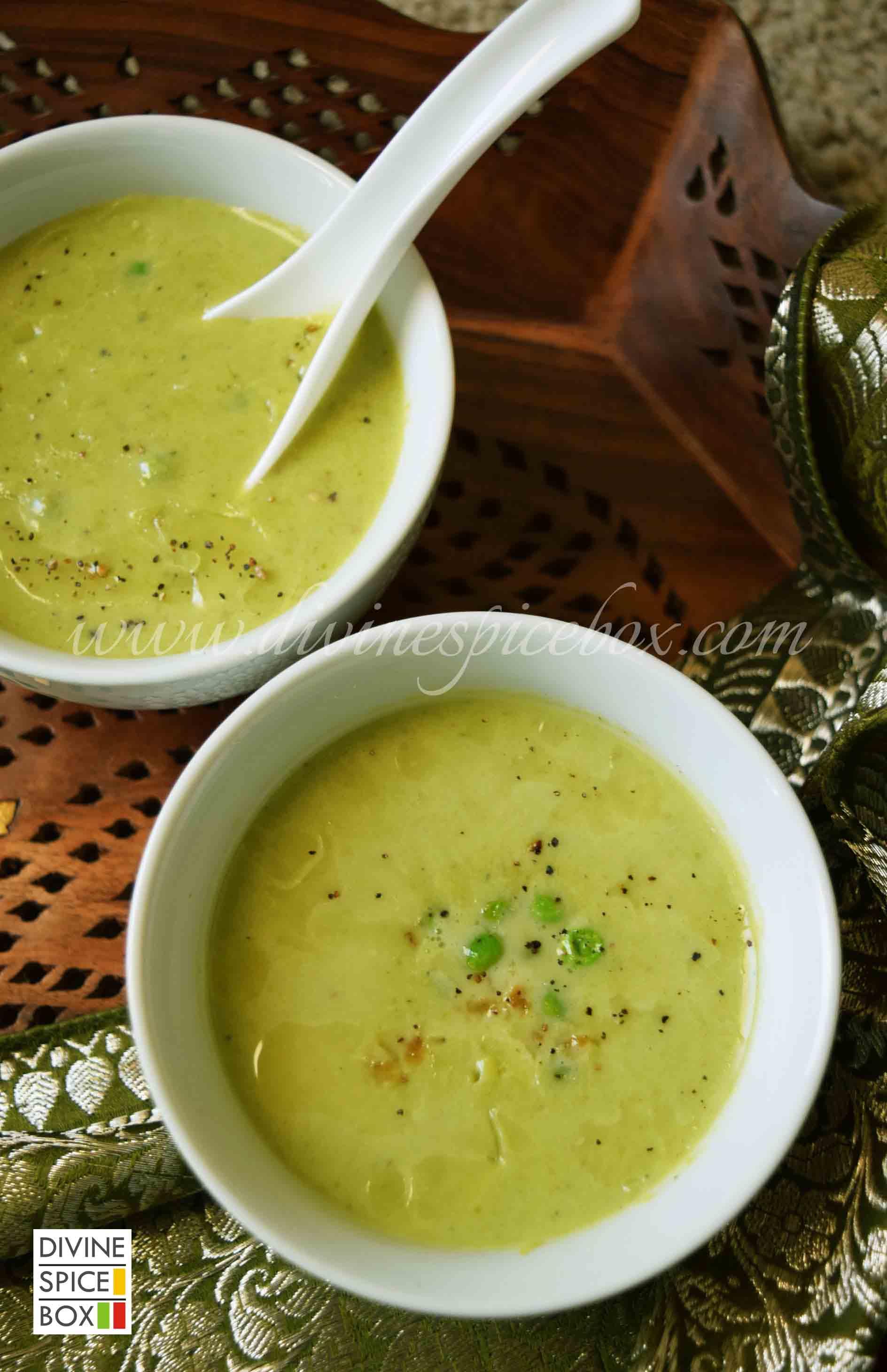 skinny soup close up