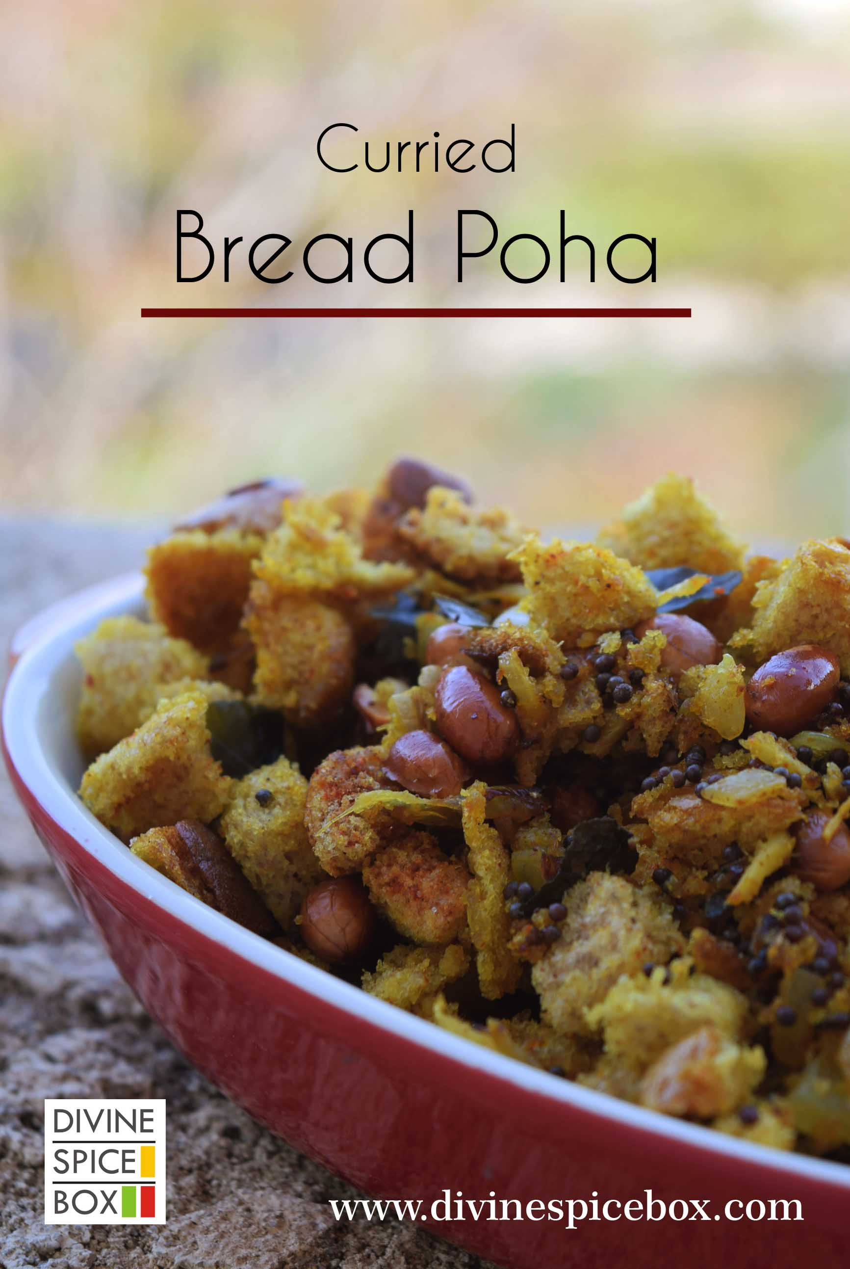 Curried Bread Poha