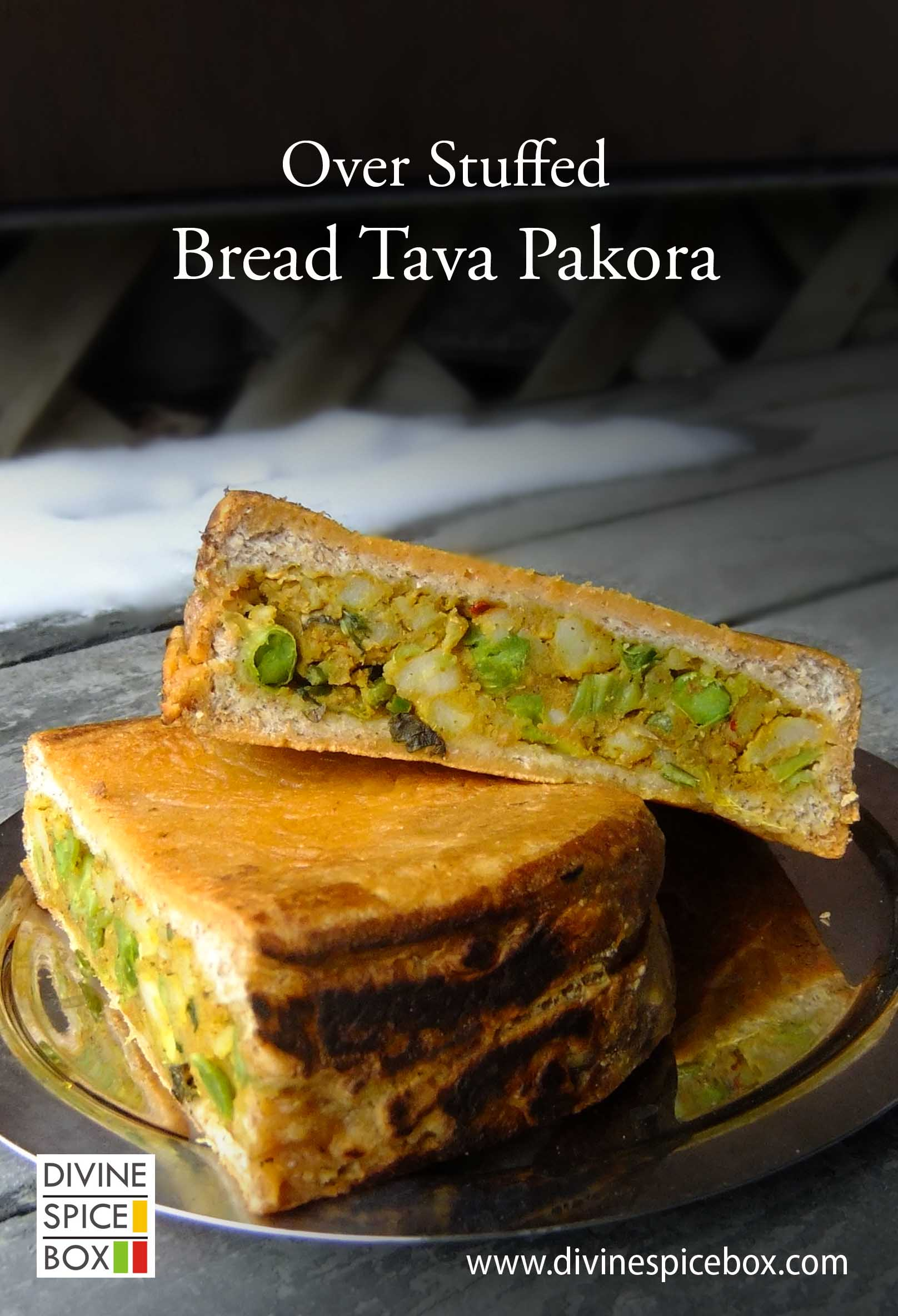 over stuffed bread tava pakora copy