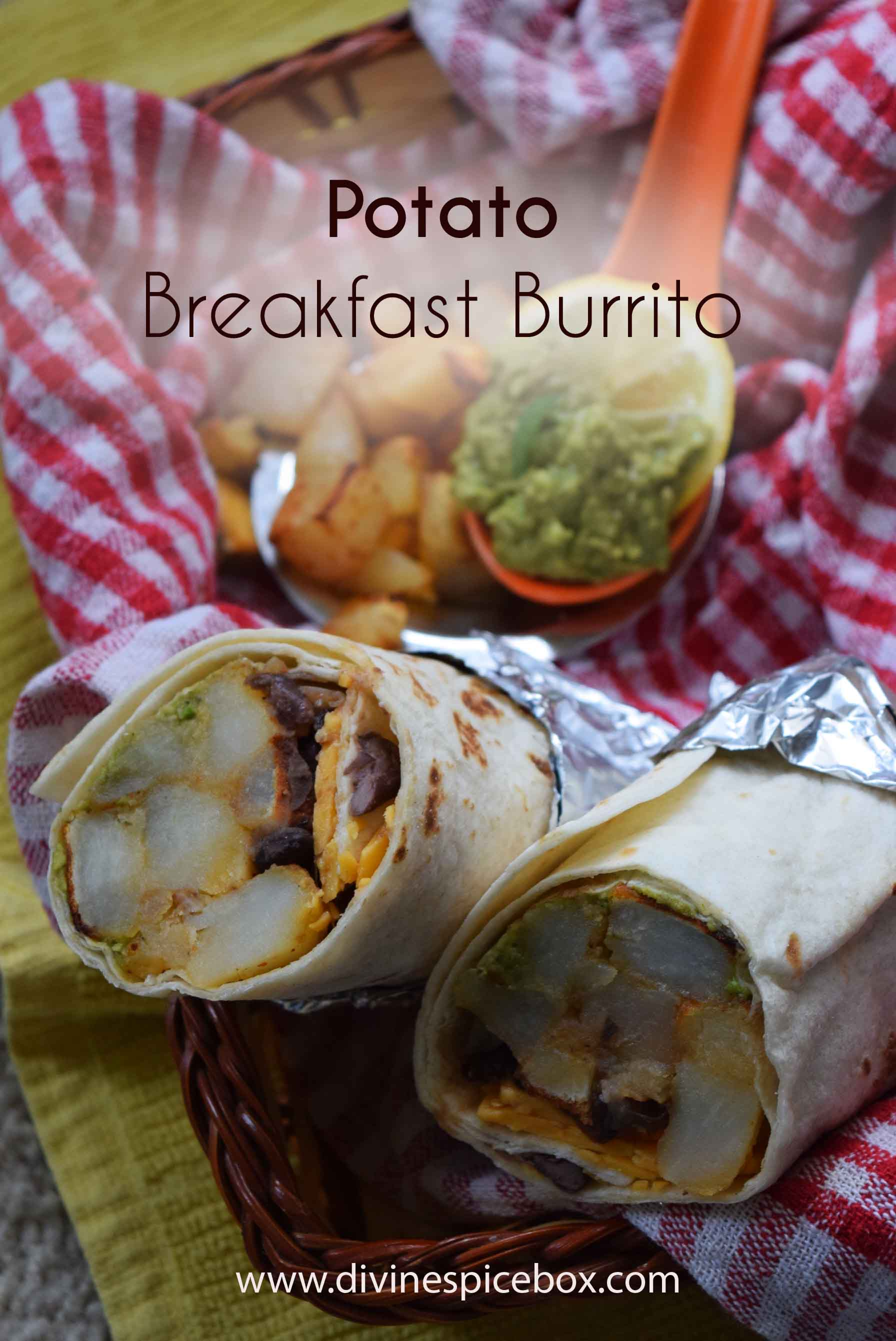Potato Breakfast Burrito