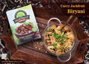 Curry Jackfruit Biryani