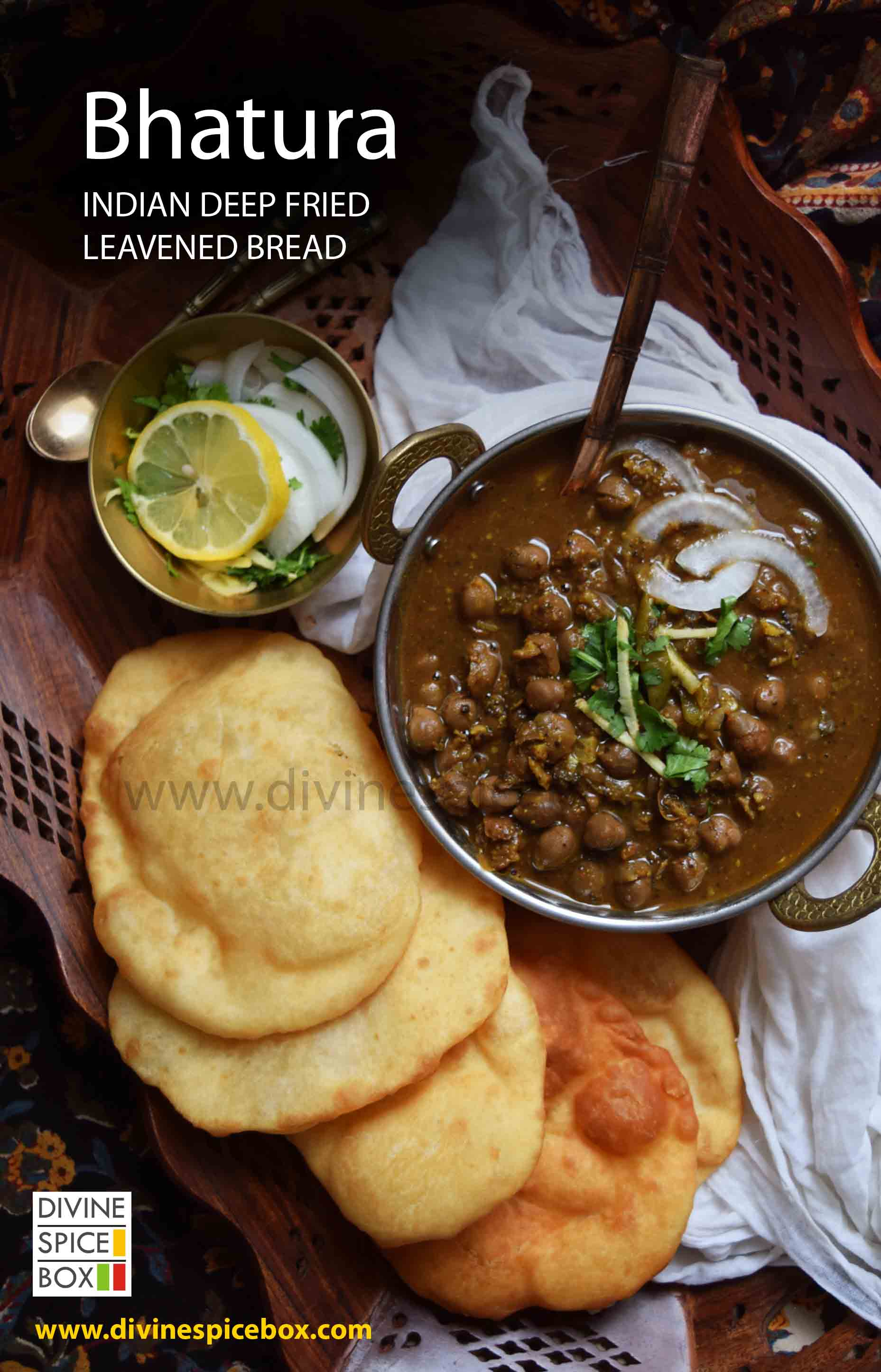 Bhatura - Indian Deep Fried Leavened Bread