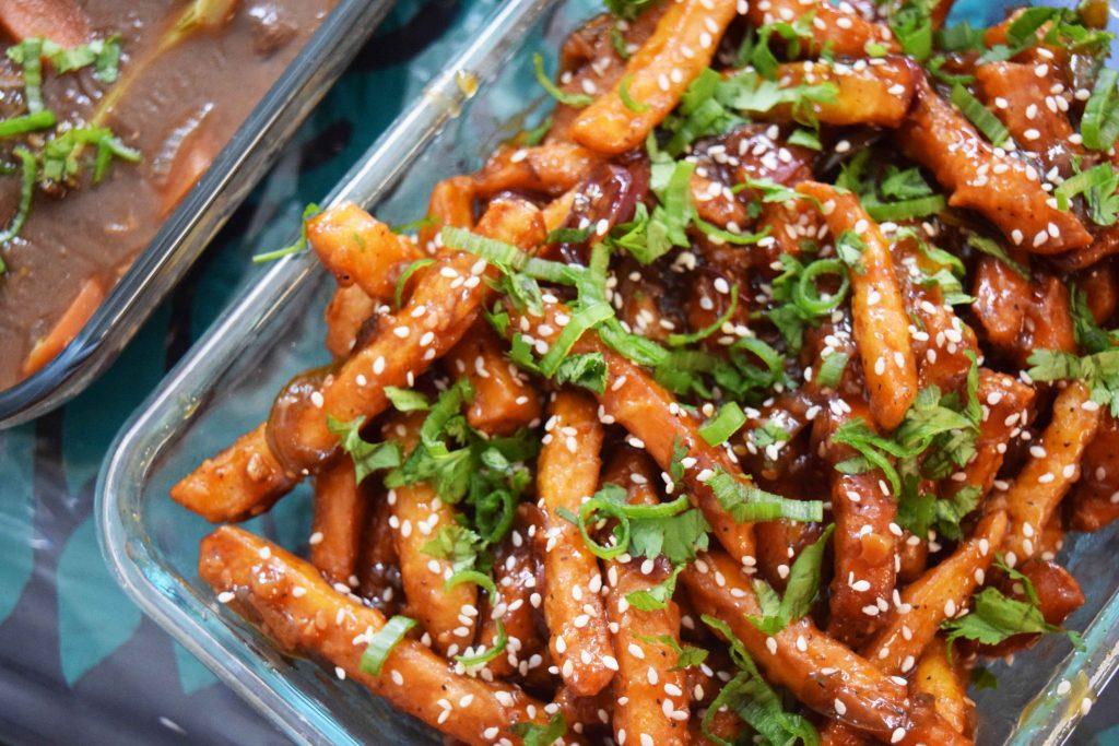 Honey Chili Potato Fries -1